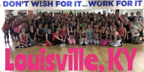 Dance2Fit Class in Louisville, KY with Jessica James on 9/20/19 @7:30pm  tickets