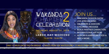 Wakanda Celebration Chapter 2 tickets