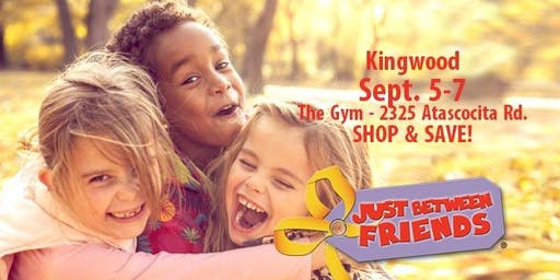 FREE ADMISSION TICKET - Just Between Friends - Kingwood - Fall 2019