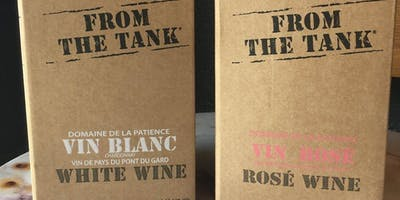 From the Tank Natural Box Wine Tasting