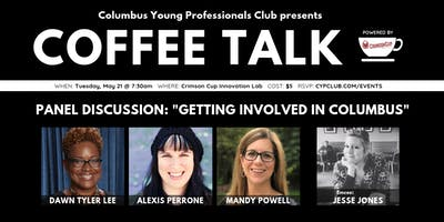 Coffee Talk: Getting Involved in Columbus