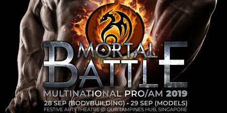 ATHLETE REGISTRATION FOR WFF MORTAL BATTLE MULTINATIONAL PRO/AM 2019 tickets