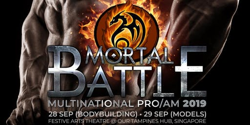 ATHLETE REGISTRATION FOR WFF MORTAL BATTLE MULTINATIONAL PRO/AM 2019