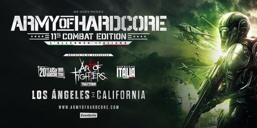 ARMY OF HARDCORE 11TH COMBAT EDITION 20 YEARS OF ART OF FIGHTERS