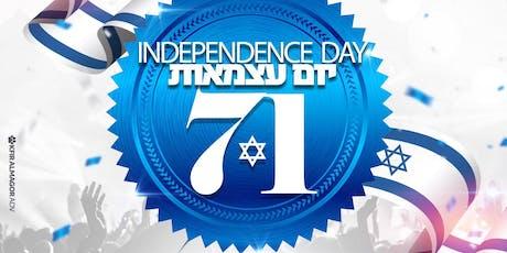 Hasil gambar untuk 71th independence day of israel