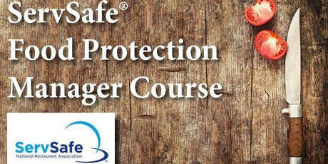 ServSafe Certified Food Protection Manager Training tickets