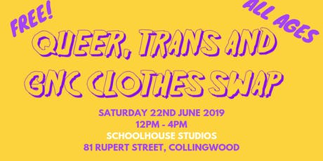 Queer, Trans & GNC Clothes Swap tickets