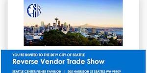 2019 City of Seattle Reverse Vendor Trade Show