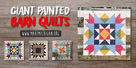 Giant Painted Barn Quilts - Wayland tickets