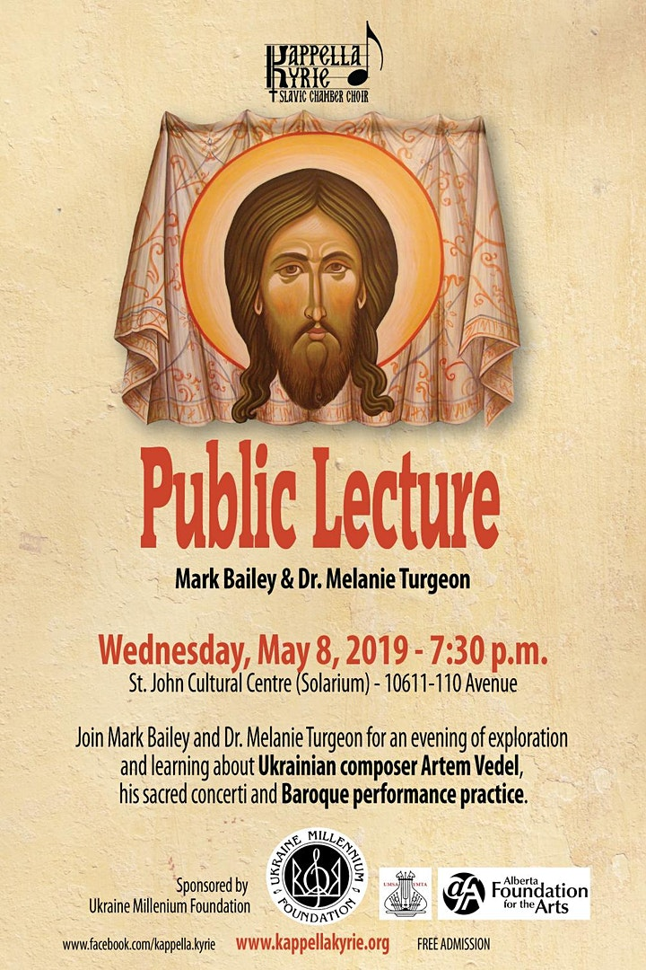 Public Lecture w/ Mark Bailey and Dr. Melanie Turgeon image