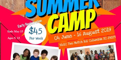 2019 Help Save Columbia Summer Camp