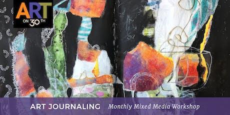 Art Journaling - July Workshop tickets