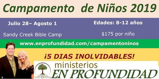 Campamento de Niños de Verano 2019