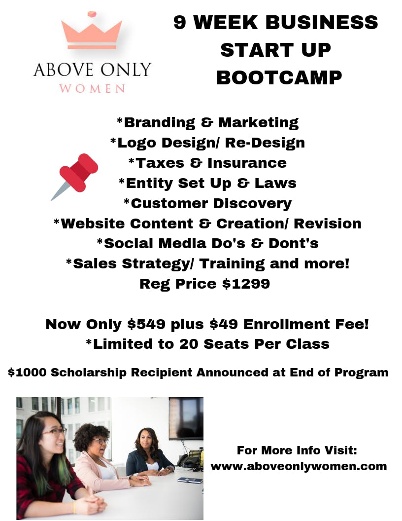 9 Week Business Start Up Boot Camp