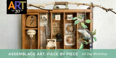 ALL DAY Assemblage Art Workshop with instructor Denise Cerro