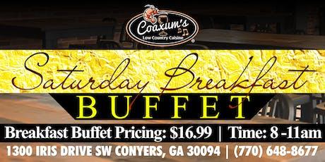 Saturday Breakfast Buffet @ Coaxum's Low Country Cuisine tickets