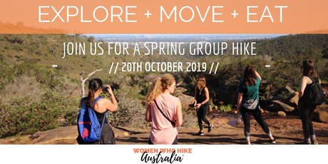 Women's Spring Group Hike and Picnic - Kalamunda tickets