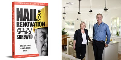 Nail Your Renovation without getting Screwed   BOOK Launch