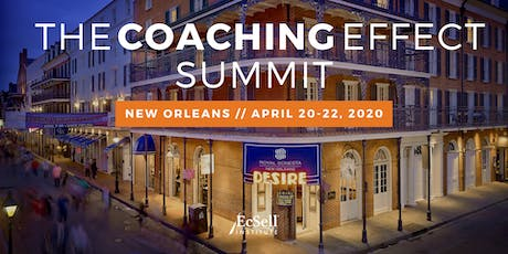 The 2020 Coaching Effect Summit by EcSell Institute tickets