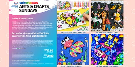 YMCAKL SuperfunKids: Sunday Arts + Crafts tickets