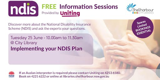 Implementing your NDIS Plan