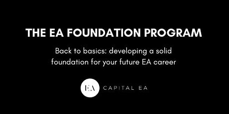 THE EA FOUNDATION PROGRAM tickets