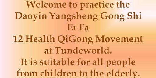 Qigong practice at Thornleigh