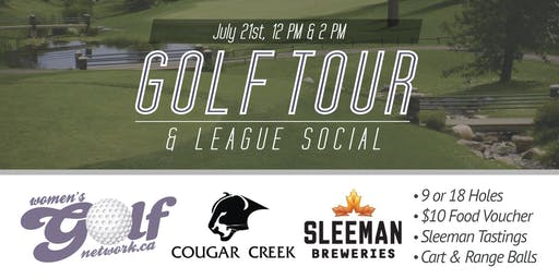 Cougar Creek Golf Tour - Edmonton Women's Golf