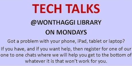 2019 Tech Talks @ Wonthaggi Library tickets