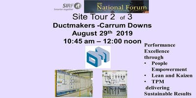 SIRF National Forum  Ductmakers - Carrum Downs Site Tour