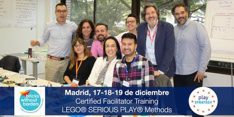 Certificación LEGO® SERIOUS PLAY® en Equipos y Grupos. Madrid (España) entradas