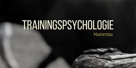 Masterclass Trainingspsychologie tickets