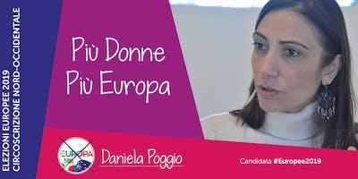 Incontriamo Daniela Poggio candidata #Europee2019 con +Europa