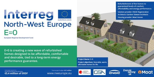Energiesprong study tour - Demonstrator site, Maldon Essex