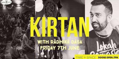 Kirtan with Rādhikā Dāsa tickets