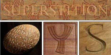 Letter Carving in Wood - 5 day workshop