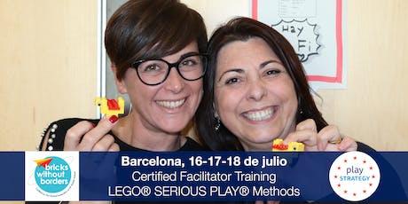 Certificació LEGO® SERIOUS PLAY® en Equips i Grups. Barcelona (Catalunya) entradas