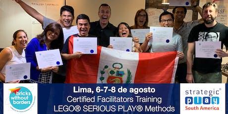 Certificación LEGO® SERIOUS PLAY® en Equipos y Grupos. Lima (Perú) entradas