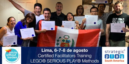 Certificación LEGO® SERIOUS PLAY® en Equipos y Grupos. Lima (Perú)