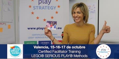 Certificación LEGO® SERIOUS PLAY® en Equipos y Grupos. Valencia (España) entradas