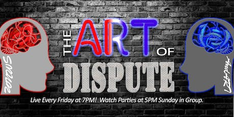 The Art of Dispute: TV Show - Facebook Watch Party! tickets
