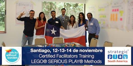 Certificación LEGO® SERIOUS PLAY® en Equipos y Grupos. Santiago (Chile) boletos