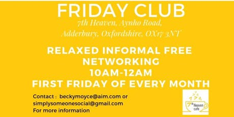 Friday Club tickets