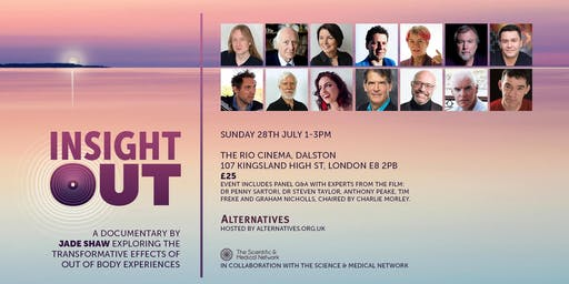 INSIGHT OUT - A Documentary Exploring the Transformative Effects of Out of Body Experience