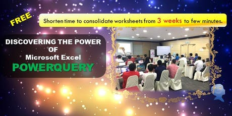 FREE Discover Microsoft Excel Latest Tool - PowerQuery for Finance, Account, Engineers tickets