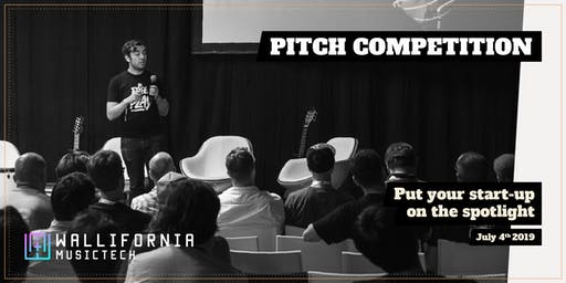 Wallifornia MusicTech - Pitch Competition