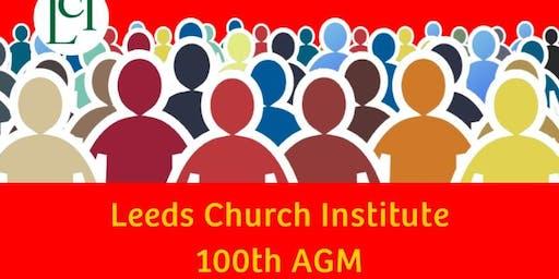 Leeds Church Institute 100th AGM