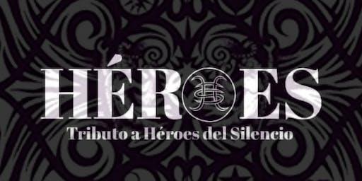 Héroes Tributo a Héroes del Silencio en #Madrid