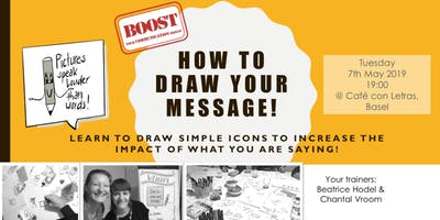 How to draw your message! Boost your communication skills!