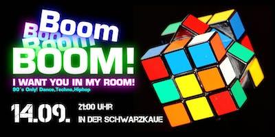 Boom 90er Party in der Schwarzkaue